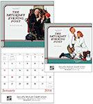 Norman Rockwell Sat Post Spiral Wall Calendars